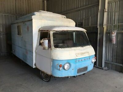 Commer Camper  Holden six and auto