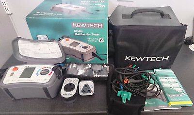 Kewtech KT64DL - Digital Multifunction Tester 6-in-1 With Anti-Trip Technology