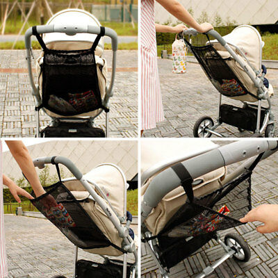 Portable Pram Stroller Storage Bag Organizer Net Baby Product Stroller Accessory