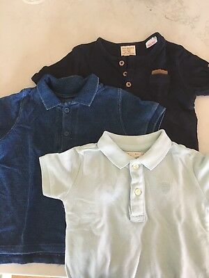 Baby Boys T-shirt And Polo Shirts. Baby Zara. Cotton On. Size 6-9 Months. 0