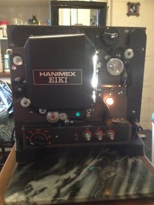 Vintage Hanimex EIKI NT-1 16mm Projector Good Condition W/ Sound And Slip Cover
