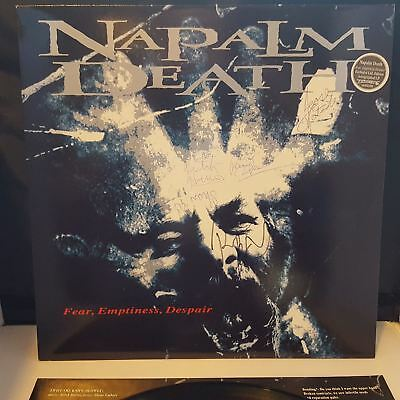 Fear Emptiness Despair Napalm Death Cd Free Shipping