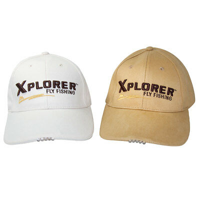 Xplorer LED Light Caps Xplorer Fly fishing
