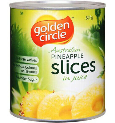 Golden Circle Sliced Pineapple In Natural Juices 825gm
