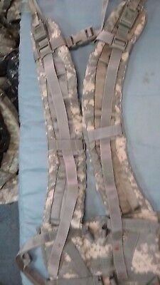 2 pair of Molle ll enhanced Shoulder Straps ,in great condition