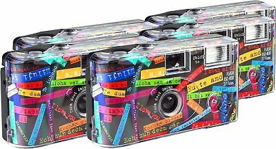 "TopShot ""I Love You"" Disposable Camera / Wedding Camera / 27 Photos / Flash /..."