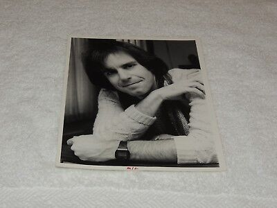Bob Weir - 8 x 10 Original Photo Print - Close Up Lounging on Car - Cool & Rare!