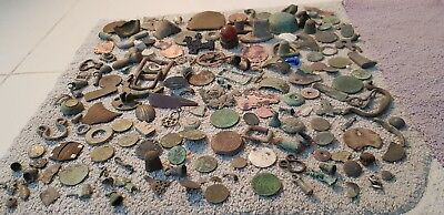 Big lot of Ancient to modern detecting & eyes only finds all as seen from UKL93d