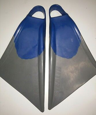 STEALTH Boogie Board Body Surf Fins Flippers size Small Medium exc cond