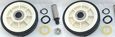Drum Roller w/shaft 2 Pack Replaces Maytag 303373 12001541