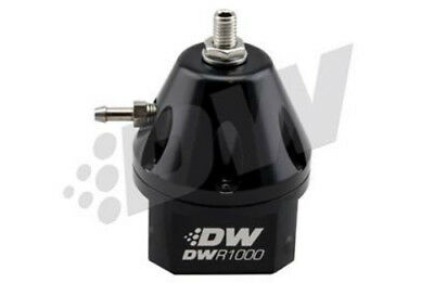 DeatschWerks DWR1000 Adjustable Fuel Pressure Regulator - Black 6-1000-FRB
