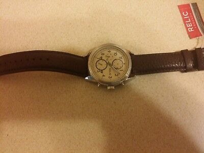 New Men's Relic by Fossil  Wristwatch