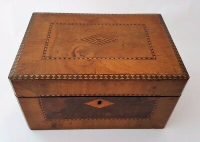 Antique Victorian Work Box