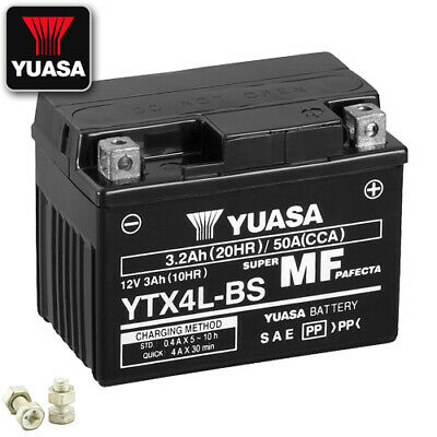 Batterie Aeon Torch 50 AM Bj. 2007 YUASA YTX4L-BS