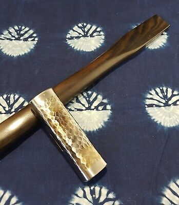 Japanese Shinzan Hammer by Makoto Aida 375g with Ebony Handle