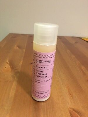 New Sanctuary Spa Covent Garden Mum To Be Tummy Soothing Bath Soak 75ml
