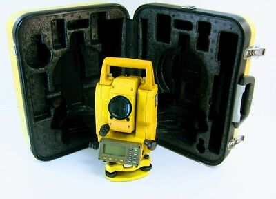 Topcon GPT 3005W...reflectorless and wireless 5 Second Total Station • used
