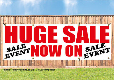 HUGE SALE NOW ON SHOP SIGN BANNER OUTDOOR POSTER waterproof PVC with Eyelets