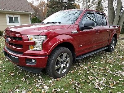 2016 Ford F-150 XLT Sport 2016 Ford F150 XLT 4x4 Sport V6 2.7 ecoboost Red only 13,000 miles!