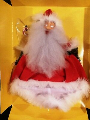 Nightmare Before Christmas Disney Santa Hand Puppet Free Priority Shipping!!!!