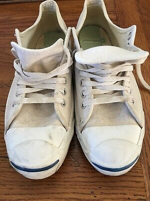 Vintage Converse Jack Purcell Posture Foundation Made In Usa Size 101/2  Mens