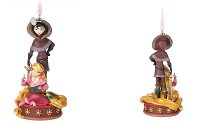 Disney Store 2017 Rapunzel And Cassandra Sketch Book Ornament  New With Tags