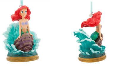 Disney Store 2017 Singing Ariel On Rock Sketchbook Ornament New With Tags
