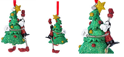 Disney Store 2017 Sketchbook Christmas Ornament Goofy Vintage Toy New With Tags