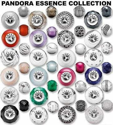 New Genuine PANDORA ESSENCE Charm COLLECTION Sterling Silver Bead 925 S925 Ale