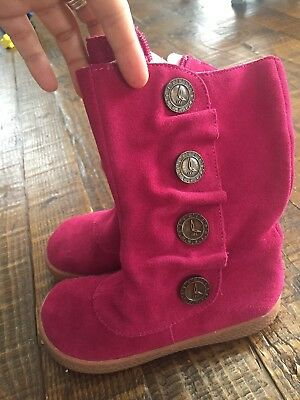 Livie And Luca Pink Boots Size 12 Girls