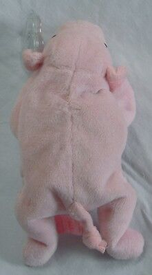 **Very Rare Squealer the Pig Beanie baby **With poem ERRORs** used