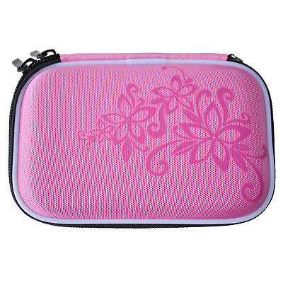 "Drive Zipper Cover Case Bag Shockproof Scratch Resistant 2.5 "" HDD Bag Pink TS"