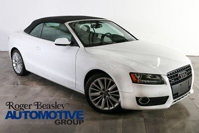 2011 Audi A5 Cabriolet Convertible 2-Door 2013 AUDI A5 CONVERTIBLE AWD AUTO LEATHER NAV REAR CAM ALLOYS