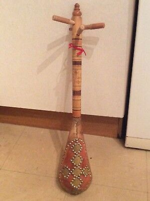 Antique/Vintage African Folk 3 String Gunibri Lute Musical Instrument