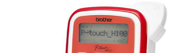 Brother P-TOUCH H 100 R 3,5-12MM Neu & OVP