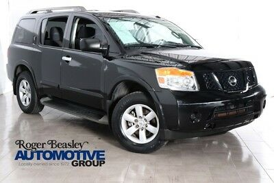 2013 Nissan Armada  2013 NISSAN ARMADA SV AUTOMATIC REAR A/C RUNNING BOARDS ONE OWNER 3 ROW SEATING