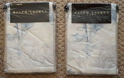 Brand New Rrp £67.95 Ralph Lauren Summer Estate Pillow Case 80X80Cm 100% Cotton