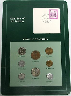 Coin Sets Of All Nations Austria