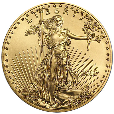 2018 $5 American Gold Eagle 1/10 oz Brilliant Uncirculated