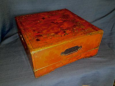 Rare Early 19th Century Antique Chinese Sweetmeat Wedding Food Box