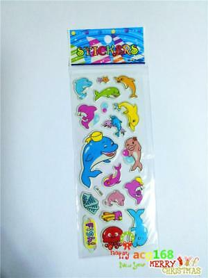 Cartoon Stickers Lot Craft Animal Xmas Stick 1pc Kid Party Toy Dolphin Doll Gift
