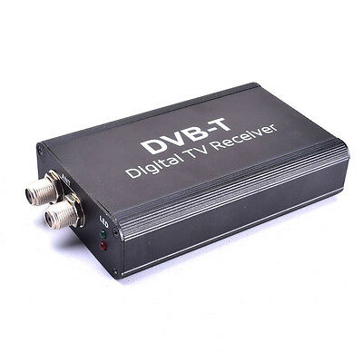 Car Digital Auto TV Box DVB-T T1 MPEG4 H.264 HD for Stereo Radio GPS Navigation