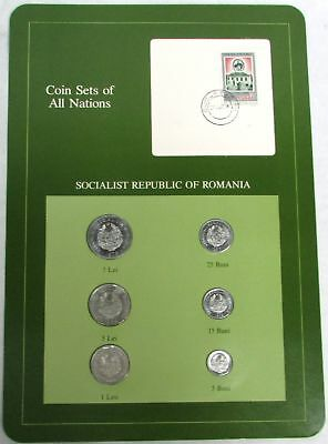 Coin Sets Of All Nations Romania