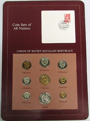 Coin Sets Of All Nations Union Of Soviet Socialist Republic Ussr Russia
