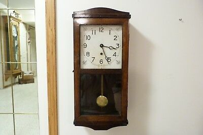 Pequegnat Ideal Time Only Wall Clock