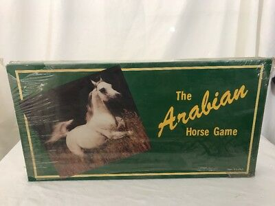 Milco  The ARABIAN HORSE BOARD GAME -  Scottsdale AZ vintage 1984 game Rare