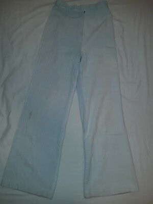 "Vintage 70s cotton ""Take 1"" brand womens bell bottom wide legged pants - VTG"