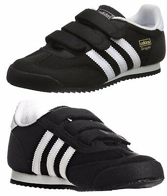 adidas Original Boys Kids Junior Infants Dragon Trainers Shoes New and Boxed