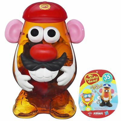 Large Playskool Mr Potato Head Firefighter Nurse Police man 35pcs Toy 2+