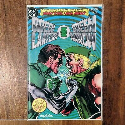 Green Lantern Green Arrow #1 - MARTIN LUTHER KING OLD TIMER DC Comics 1983